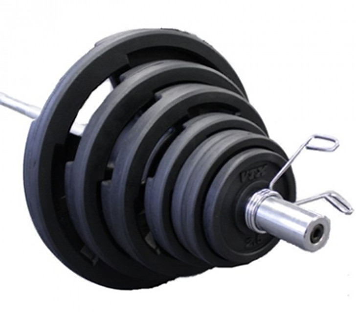 Picture of VTX Rubber Olympic 300 lb. Weight Set