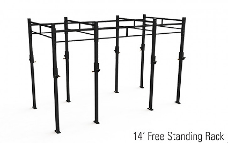 Picture of X Rack Free Standing 6FT - 14FT
