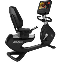Platinum Club Series Recumbent Lifecycle® Exercise Bike with Discover SE3 HD Console