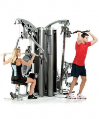 AP-7300 3-Station Multi Gym System (Nylon Pulley's)