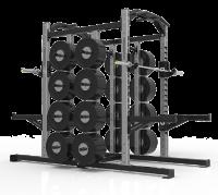 FreeMotion Double Half Rack
