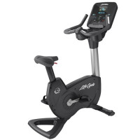 Platinum Club Series Upright Lifecycle® Exercise Bike with Discover™ SE3 HD Console