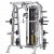 CSM-725WS SMITH MACHINE/HALF CAGE ENSEMBLE